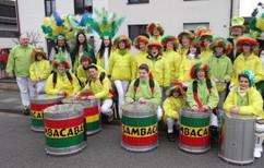 Sambacabana unterwegs